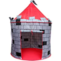 Princess Castle Play Tent Kids Play House Large Indoor/Outdoor Tunnel Pop Up Toys For Baby Parent-child Gift, Summer Shade Toy Play Tent - Conveniently Folds with a Carry Bag