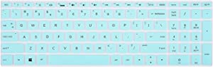 Keyboard Cover for HP Envy 17M-AE111DX 17M-AE011DX 17-AE013CA, HP 17-BS049DX 17-BS010NR 17-BS020NR, HP 17.3