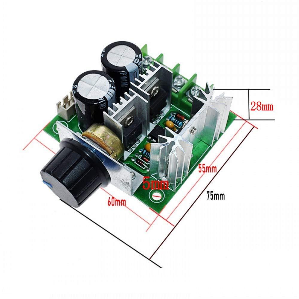 PWM DC modulo regolatore motore per ventilatore e pompa JZK 10A 12V interruttore di controllo della velocit/à continuo 40V DC regolatore di velocit/à del motore