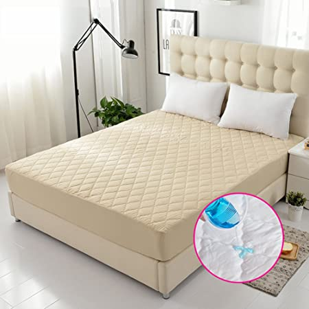 Padded Cotton Bedspreads,Waterproof Bed Cover Childrenu0027s Bed Sheets Bed  Pads Protective Case E