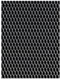 Amaco WireForm Metal Mesh aluminum woven sparkle mesh - 1/8 in. pattern pack of 3 sheets