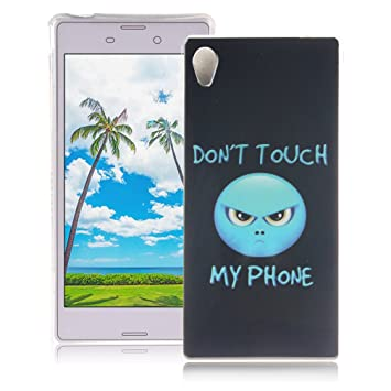 XiaoXiMi Funda Sony Xperia M4 Aqua Carcasa de Silicona Caucho Gel para Sony Xperia M4 Aqua Soft TPU Silicone Case Cover Funda Protectora Carcasa ...