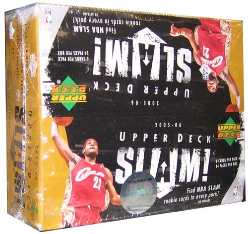 - 2005/06 Upper Deck Slam Basketball Retail Box - 24P6C
