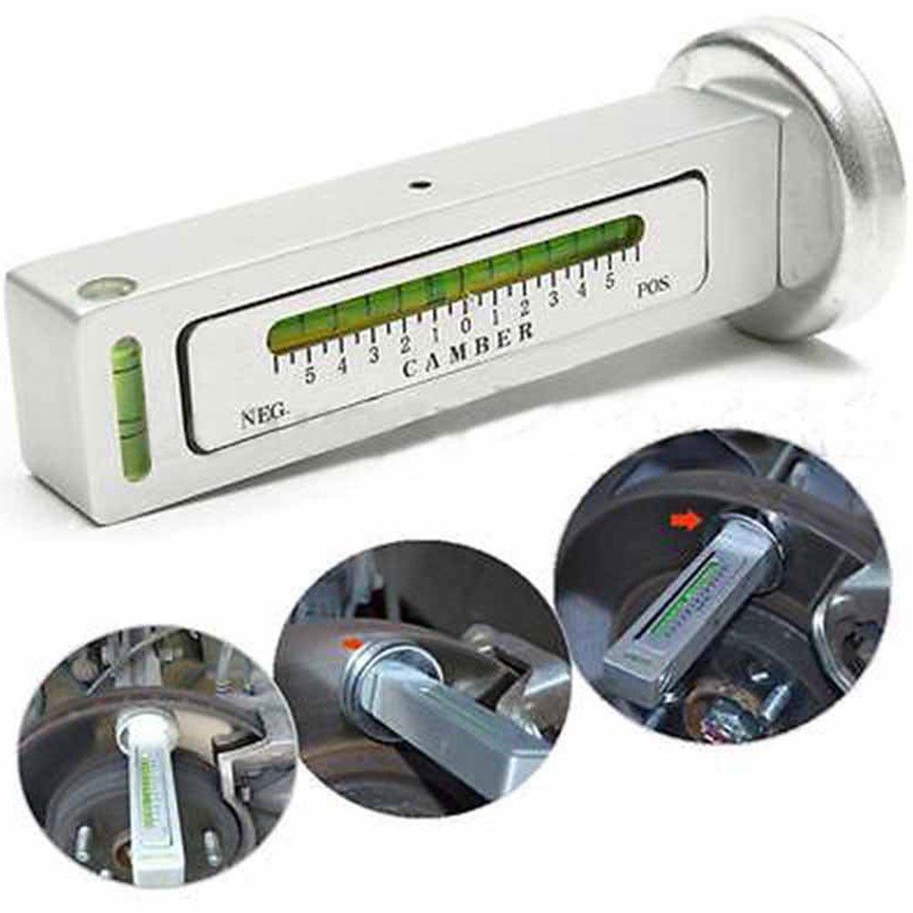 Magnetic gauge Tool universale quattro ruote allineamento magnete Locating Tool camber livello ad angolazione regolabile strumento ausiliario Hub per auto camion
