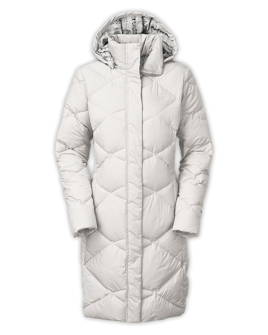 The North Face Womens Miss Metro Parka Vaporous Grey X-Small