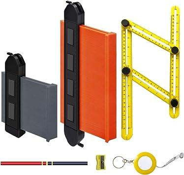 """6/"""" Contour Gauge Profile Gauge Shape Duplicator Precise Wood Marking Tool"""