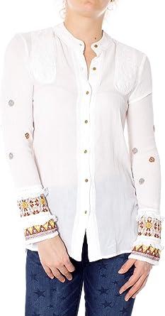 Desigual Mujer Camisas: Amazon.es: Ropa y accesorios