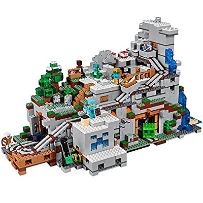 LEGO Minecraft The Mountain Cave 21137 Building Kit (2863 Piece): Toys & Games