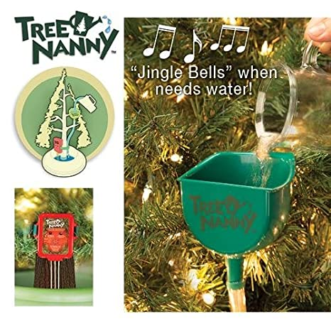 Christmas Tree Watering System.Tree Nanny Christmas Tree Watering Device