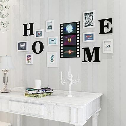 Daeou Marco de pared combinación foto pared salón decoración ...