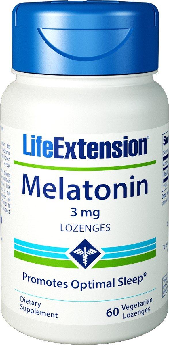 Melatonin 3 mg 60 Lozenges (Pack of 2)