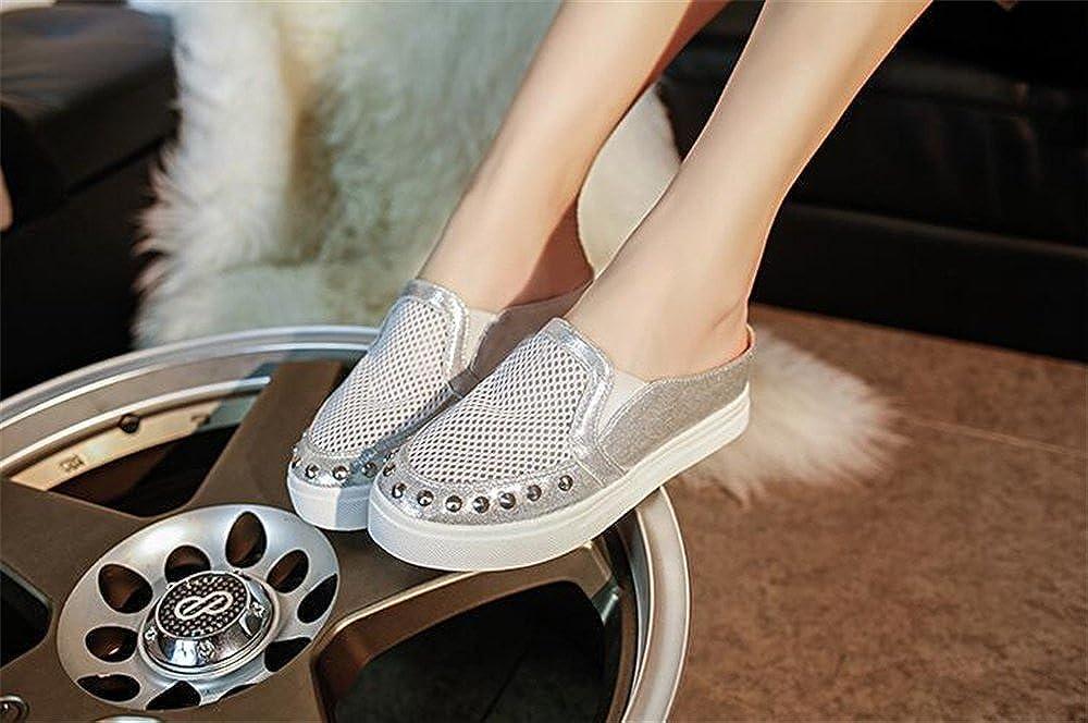 excellent.c 2018 semi-Towed Casual Shoes Women Breathable Canvas Shoes