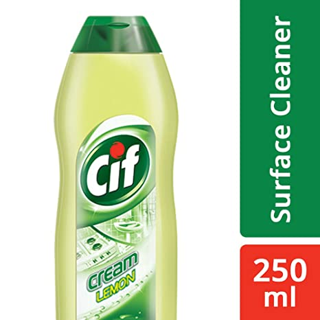 Cif Cream Surface Cleaner, Lemon, 250 ml