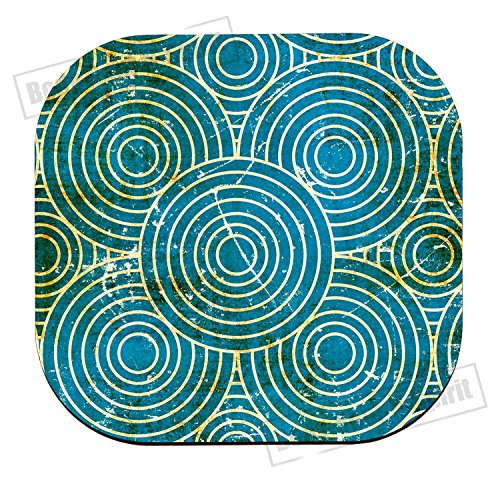 Abstract vintage cup Drink holder coaster MDF Mat Wooden Dye placemat best gift