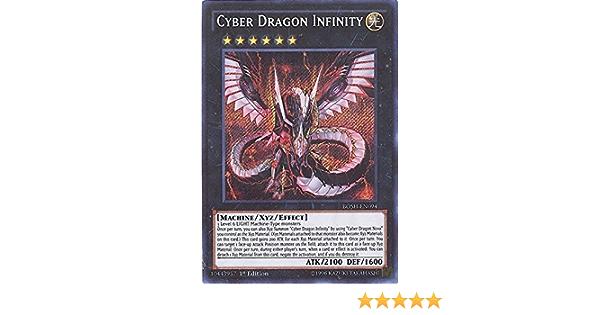 Secret Rare 1st Edition NM Breakers Cyber Dragon Infinity BOSH-EN094