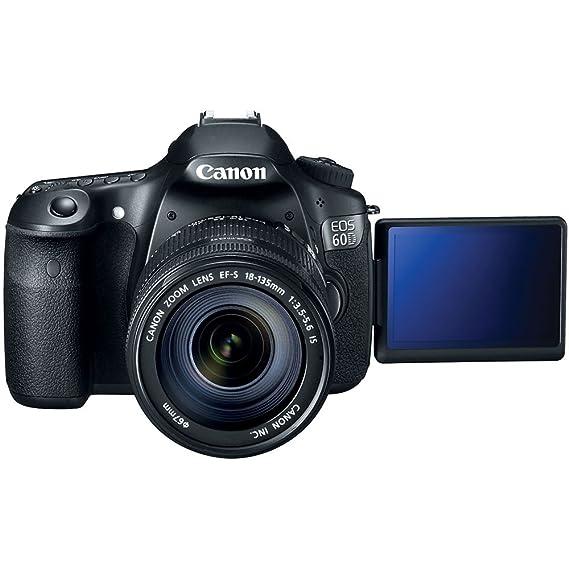 Canon EOS 60D + EF-S 18-135mm Juego de cámara SLR 18MP CMOS 5184 x ...