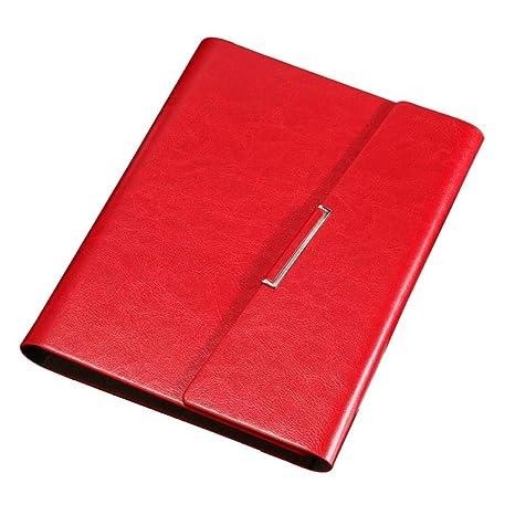 Wuyan Papelería de Oficina Cuaderno Espiral A5 Agenda de ...