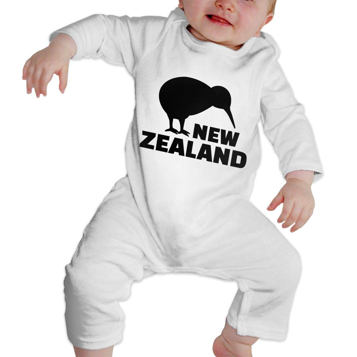 Fasenix New Zealand Kiwi Slouchy Newborn Baby Boy Girl Romper Jumpsuit Long Sleeve Bodysuit Overalls Outfits Clothes