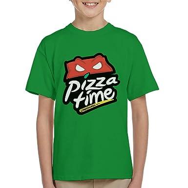 Teenage Mutant Ninja Turtles Pizza Hut Logo Kids T-Shirt ...