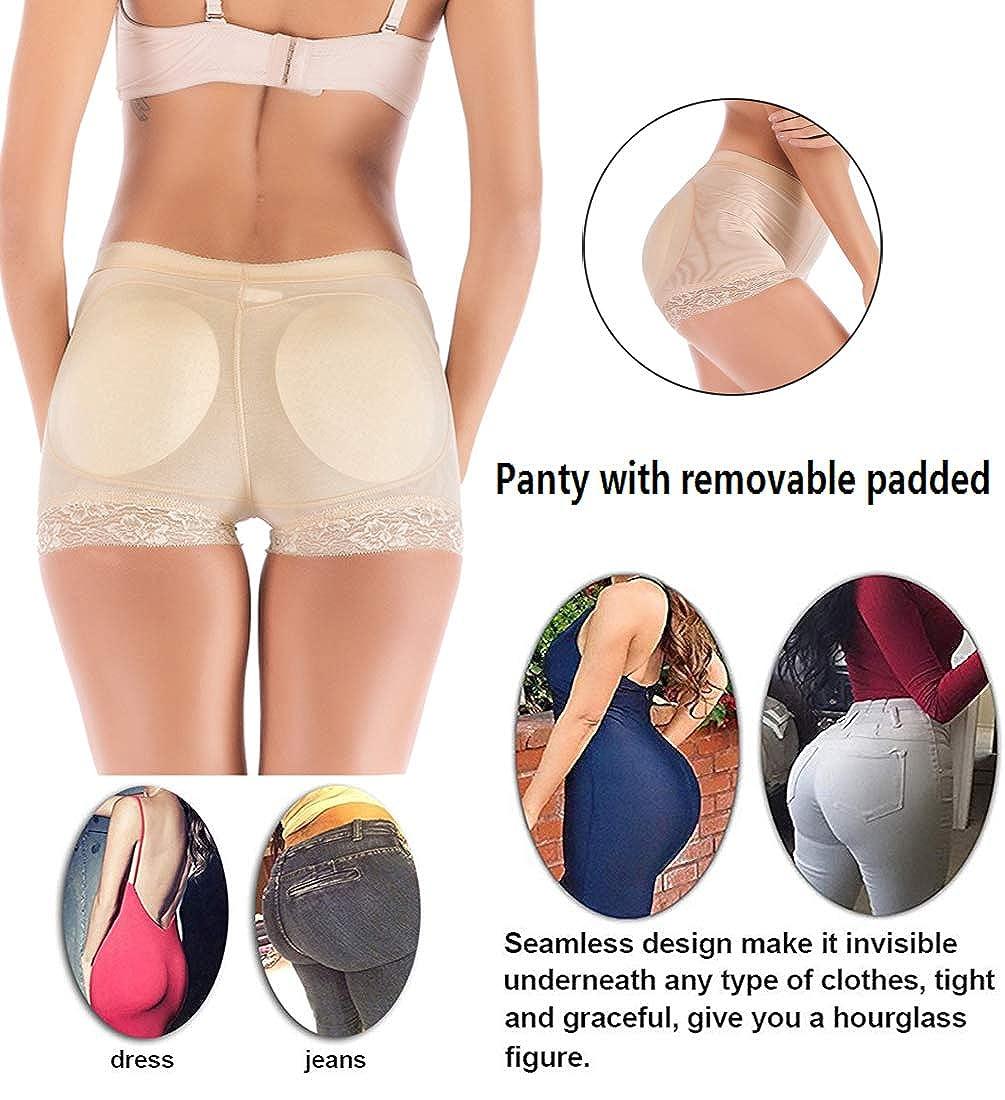 FOCUSSEXY Womens Butt Lifter Booty Shapewear Belt Shaper Tummy Control Pantie