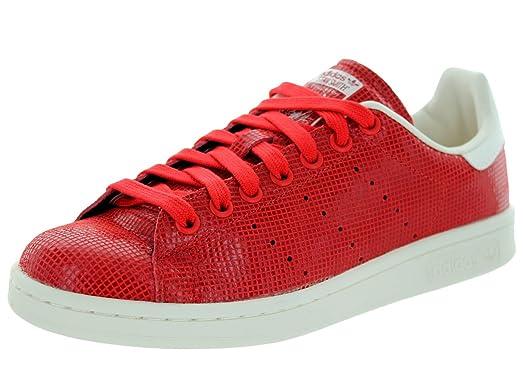 Adidas Women\u0027s Stan Smith W Red/Red/Cwhite Casual Shoe 8.5 Women US