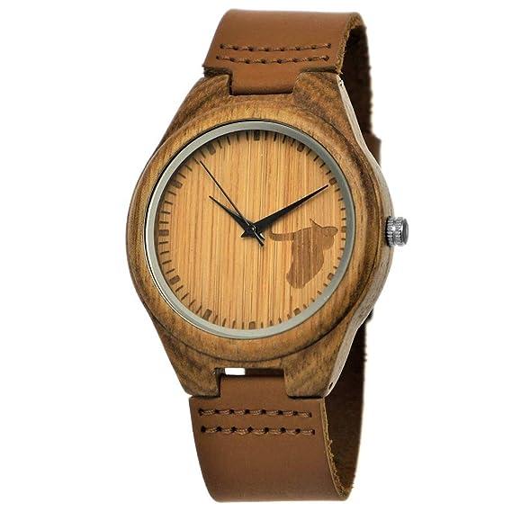Hecha a mano de madera de Alemania – Reloj de mujer – Reloj de hombre con