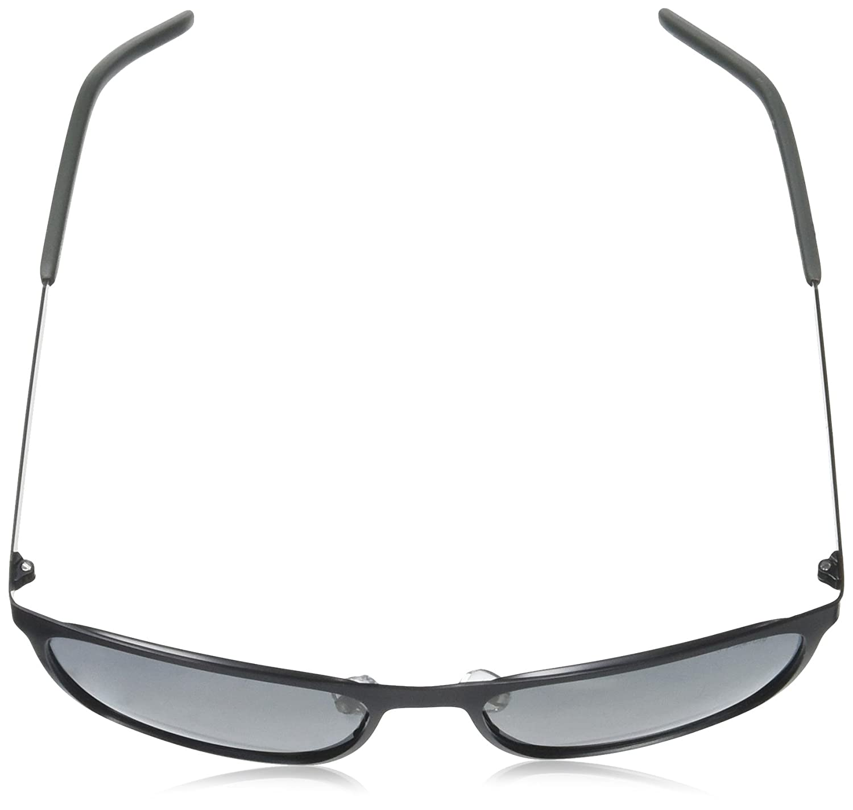 57 mm BLCK GOLD Polaroid Sunglasses Mens Pld2046s Polarized Rectangular Sunglasses