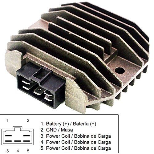 MZS Voltage Regulator Rectifier for Yamaha R1 98-01/ R6 99