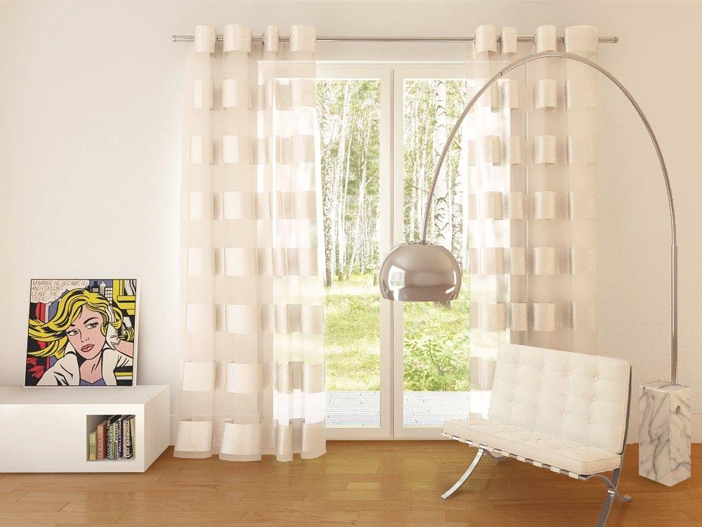 splendid collezione florence - tenda con occhielli, 140 x 245 cm ... - Tende Da Soggiorno Moderno 2