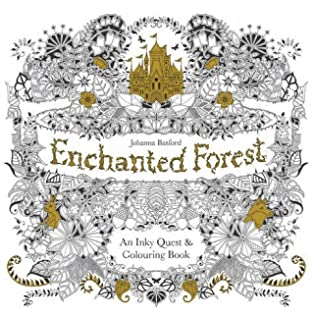 Enchanted Forest An Inky Quest Colouring Book