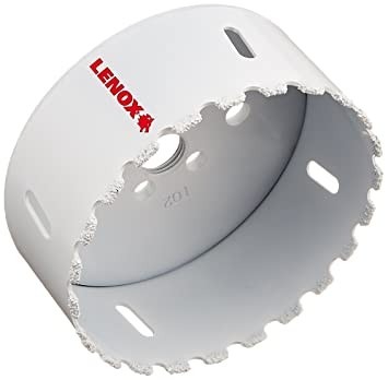 Amazon Com Lenox Tools 2996464cg Master Grit Carbide Grit Hole Saw 4 Inch Or 102mm Home Improvement