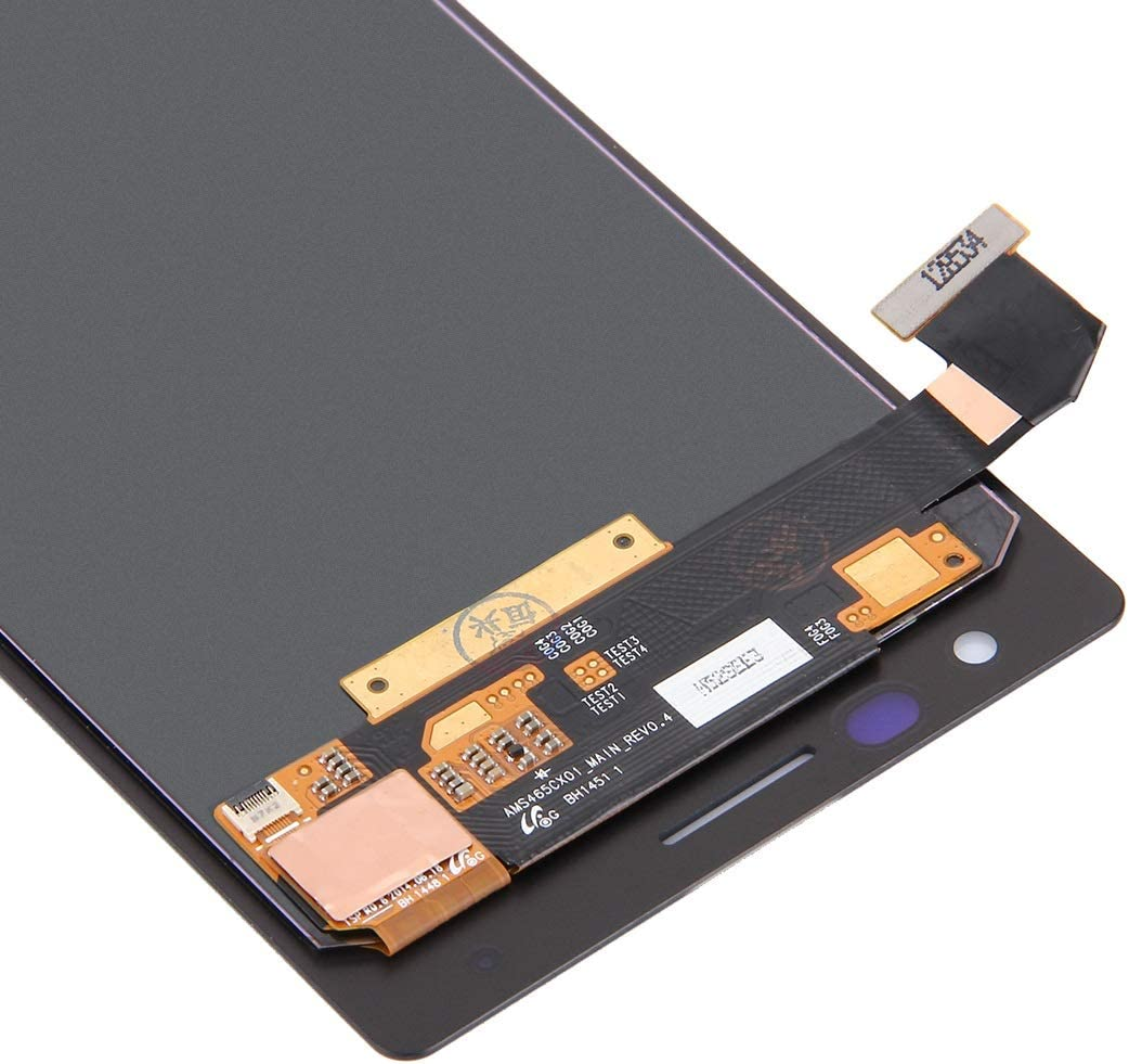 LCD Screen Mobile Phone and Digitizer Full Assembly for Nokia Lumia 730 Black