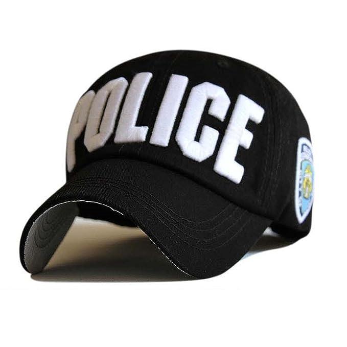 Letter Baseball Caps Leisure Embroidery Baseball Cap Hats for Men Women Cap Snap Back Enfant Black