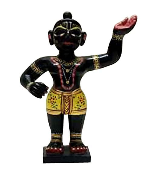 Indian Handicrafts Export Brass Shrinathji Deity: Amazon co