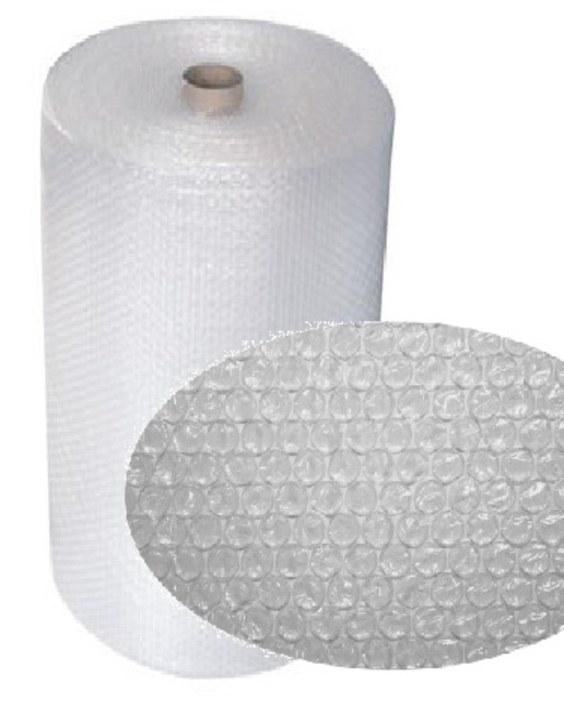 1 Large Roll Of Small Bubbles Bubble Wrap Size 1000mm (1 Metre) High x 100 Metres Per Roll - Protective Packaging Packing Wrapping Cushioning Bubblewrap Little Bubbles