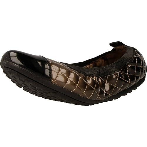 Zapatos Bailarina para Mujer, Color marrón, Marca GEOX