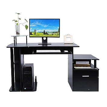 Computertisch Schreibtisch Bürotisch Arbeitstisch Büromöbel 3 Farben ...