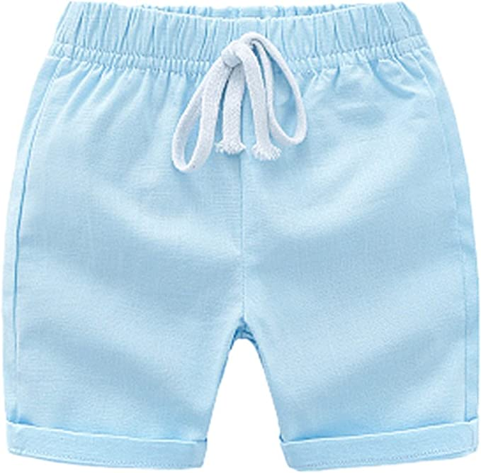 Bom Bom Nino Pantalon Corto Algodon para Verano: Amazon.es: Ropa y ...