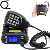 QYT KT-8900D Dual Band Mini Car Ham Radio Mobile Transceiver VHF UHF 136-174/400-480MHz Compact Amateur Two Way Radios…