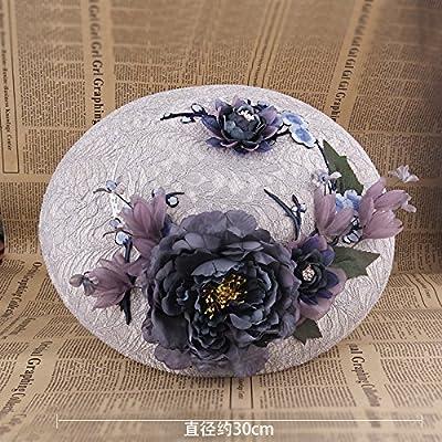 KPHY-La Mariée Mariage Porter Chapeaux Jacobs De Couleur De Fleurs Des Chapeaux Des Chapeaux