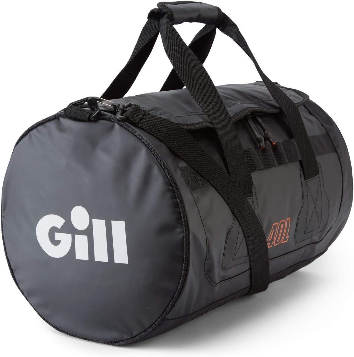 Gill Tarp Barrel Bag 40L Black L084