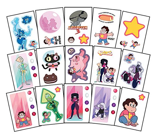Steven Universe Stickers - Complete Set of 15