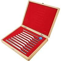 Hilitand 8 Diapasons en Aluminium avec Mallet Medical Instruments Réglage des Vibrations Jeu d'Outils