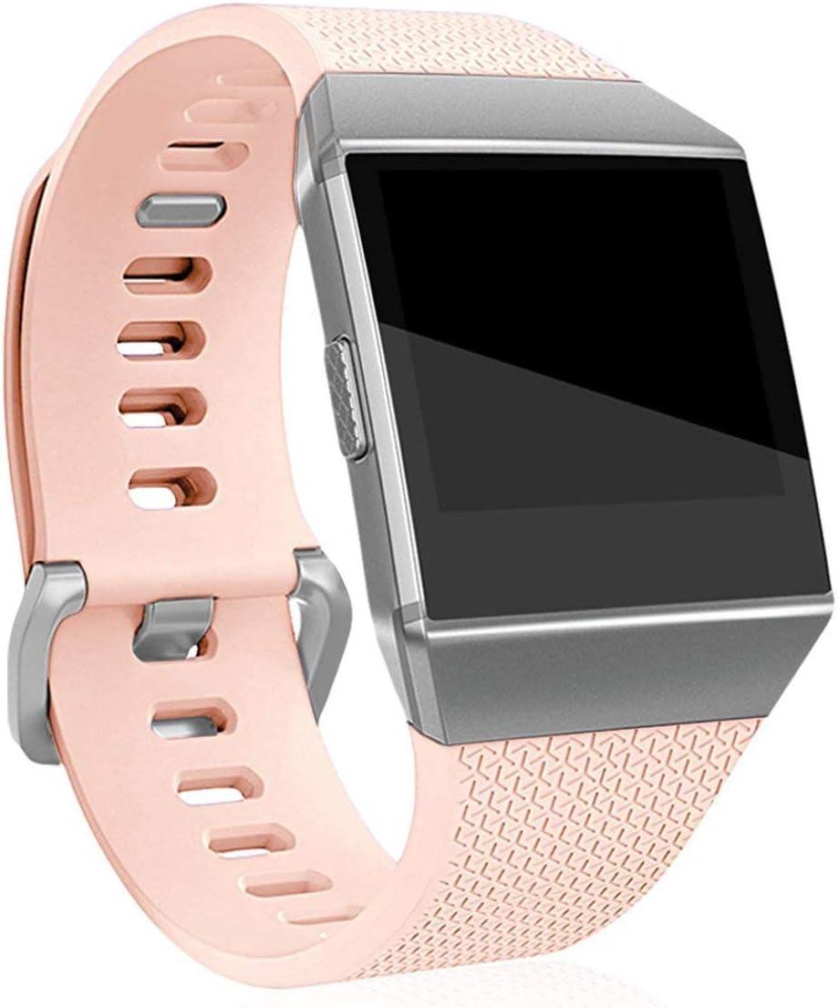 Malla Para Reloj Fitbit Ionic Smartwatch (talle L, Rosa)