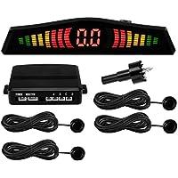 Sensor de estacionamento 4 Pinos Sonoro e Display LED