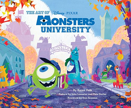 The Art of Monsters University Animation Art