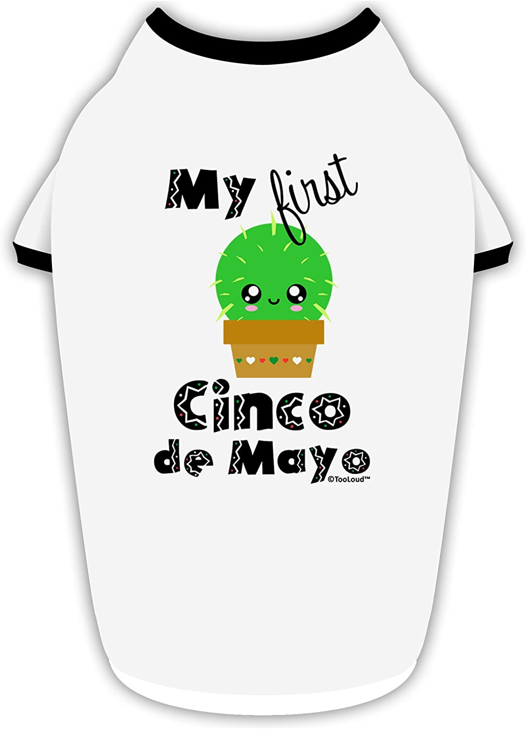 Cute Cactus Design Infant T-Shirt Dark TooLoud My First Cinco de Mayo