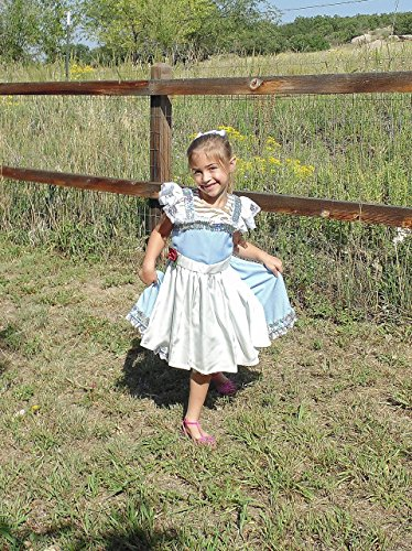 Girls 4-5 Belle Dress up Apron by Fru Fru and Feathers Costumes & Gifts