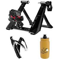Elite Novo Smart Interactive Trainer Indoors Cycling Kit with Elite Water Bottle Cage and Bottle,