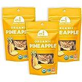 Mavuno Harvest Fair Trade Organic Dried Fruit, Pineapple, 3 Count
